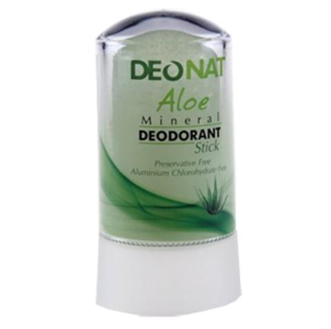 Минеральный дезодорант-кристалл c алоэ DeoNat
