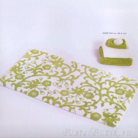 Элитный коврик для ванной Jardin 165 зеленый от Abyss & Habidecor