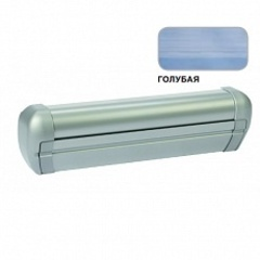 Маркиза крышная с эл.приводом DOMETIC Premium RTA2047,цв.корп.-серебро,ткани-голубой, Ш=4,7м