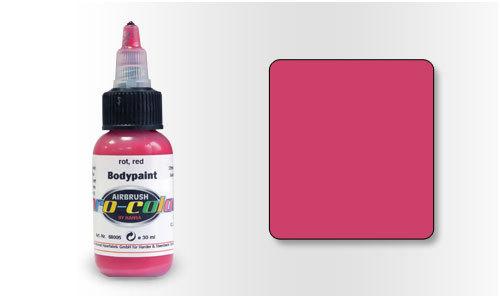 68005 Краска для Бодиарта Pro-Color Red (Красный) 30мл.