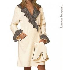 Элитный халат махровый Lanca Leopard от Timas