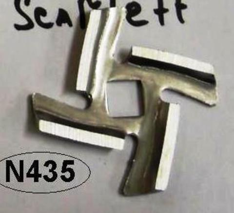Нож для мясорубки Vitek, Panasonic - PN002 - четырехгранник на старые модели