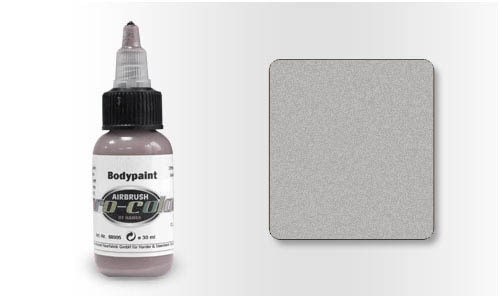 68101 Краска для Бодиарта Pro-Color Silver (Серебро) 30мл.