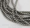 5810 Хрустальный жемчуг Сваровски Crystal Grey круглый 4 мм, 10 шт ()