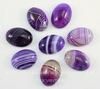 Кабошон овальный Агат фиолетовый (тониров), 18х13х6 мм