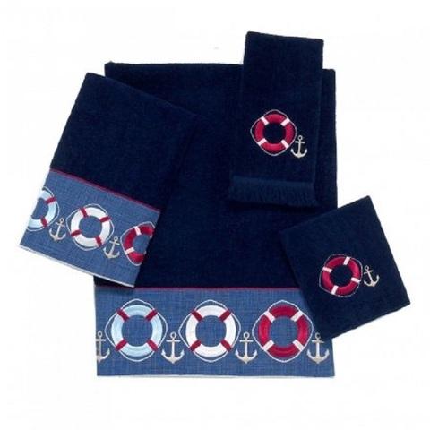Полотенце детское 76х41 Avanti Life Preserves синее