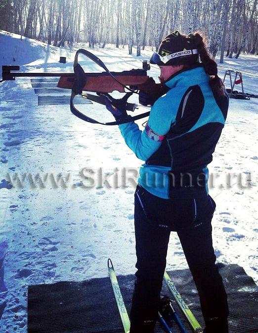 Лыжный тренировочный костюм женский