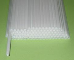 Трубочка полимерная для шаров, флагштоков и сахарной ваты (100 шт)