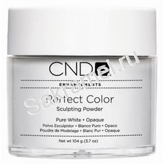 CND - Акриловая пудра Perfect  Pure White Opaque 104 гр