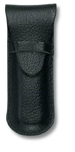Чехол кожаный черный (шт.) 4.0666, для Swiss Army Knives or EcoLine 84 mm, толщина ножа 2 уровня, в