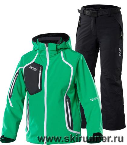 Горнолыжный костюм 8848 Altitude Salvation Green Steller Black детский