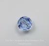 5000 Бусина - шарик с огранкой Сваровски Light Sapphire 6 мм ()