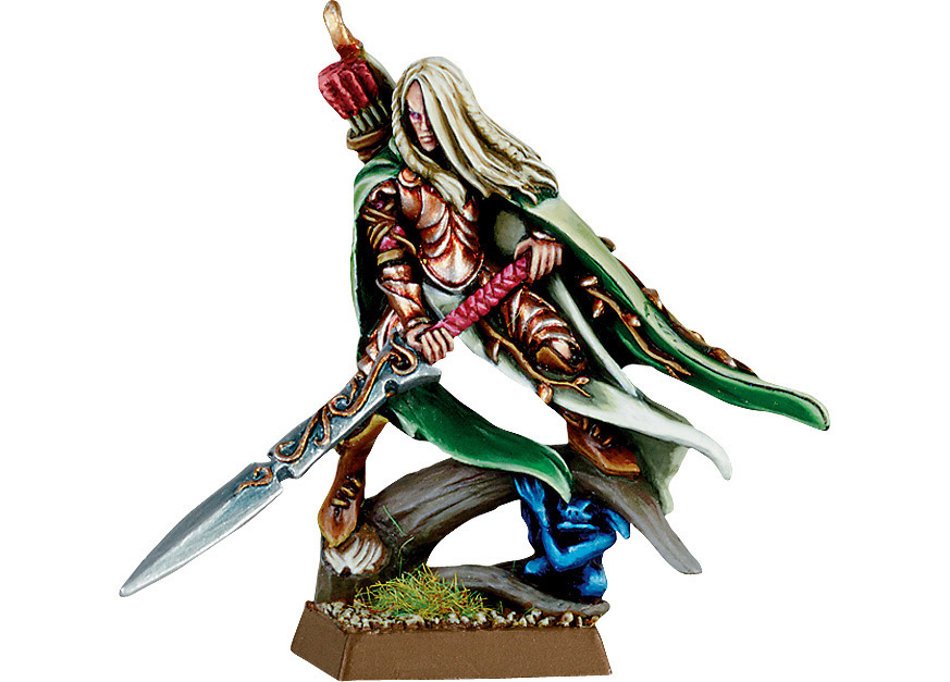 Wood Elf Highborn with Great Weapon