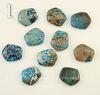 Кабошон Яшма Императорская синяя (прессов., тониров), 16-17х13 мм (№1 (16х13 мм))