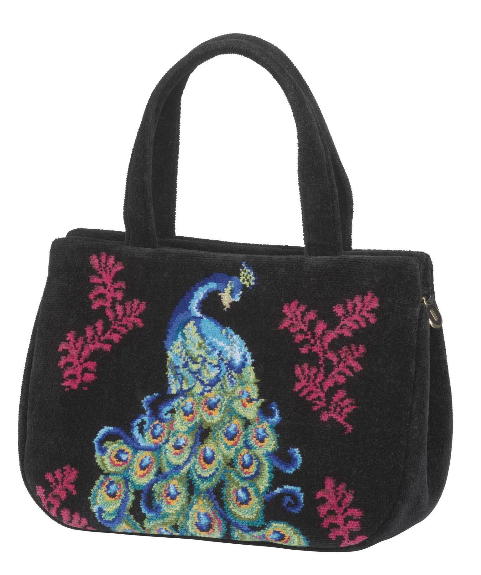 Элитная сумка шенилловая Peacock от Feiler