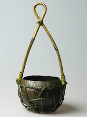 Кашпо кокос подвесное HF10B-028