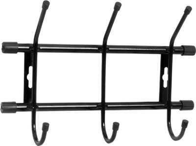 Вешалка настенная на  3 крючка ВН3 (цвет черный), Ника, г. Ижевск