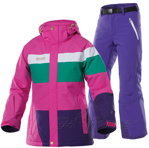 Горнолыжный костюм детский 8848 Altitude Bella Pink Wilbur