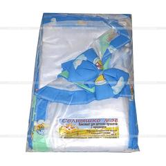 Комплект для детской кроватки 2 предметов ZP-10OKT-LD28