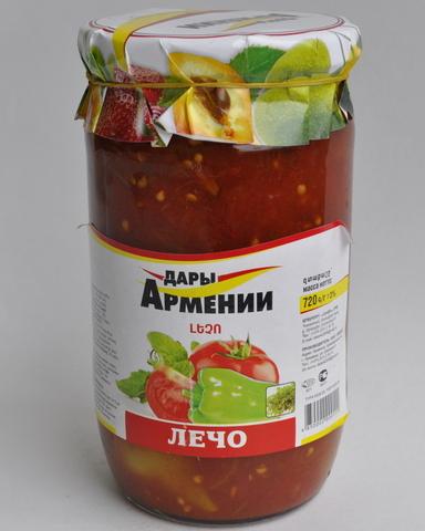 Лечо Дары Армении, 720г
