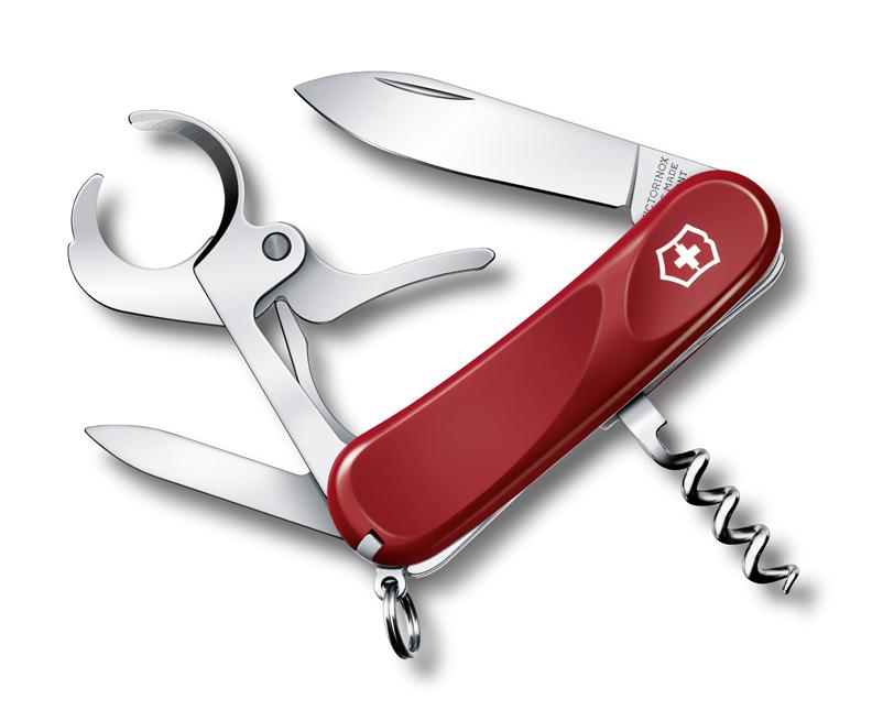 Нож Victorinox Cigar 36, 85 мм, 8 функ, красный