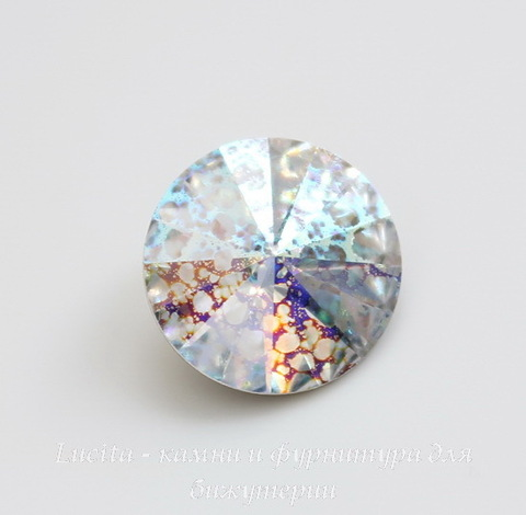 1122 Rivoli Ювелирные стразы Сваровски Crystal White Patina (SS39) 8,16-8,41 мм ()