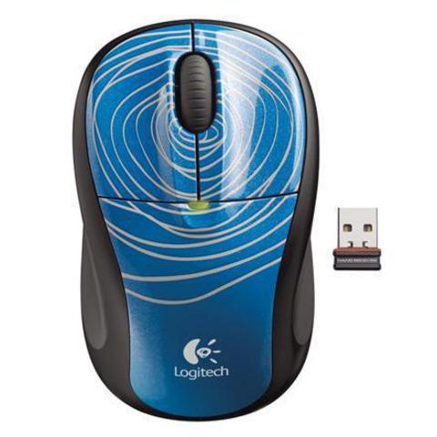 LOGITECH M305 Cordless USB Blue Swirl