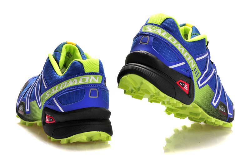 Кроссовки Salomon Speedcross 3 blue lime