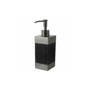 Дозаторы для мыла Дозатор для жидкого мыла Kassatex Parc East Grid Silver dozator-dlya-zhidkogo-mila-parc-east-grid-silver-ot-kassatex-ssha-kitay-foto.jpg