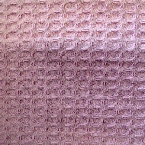 Элитный халат вафельный Nido d'Ape сиреневый от Mirabello