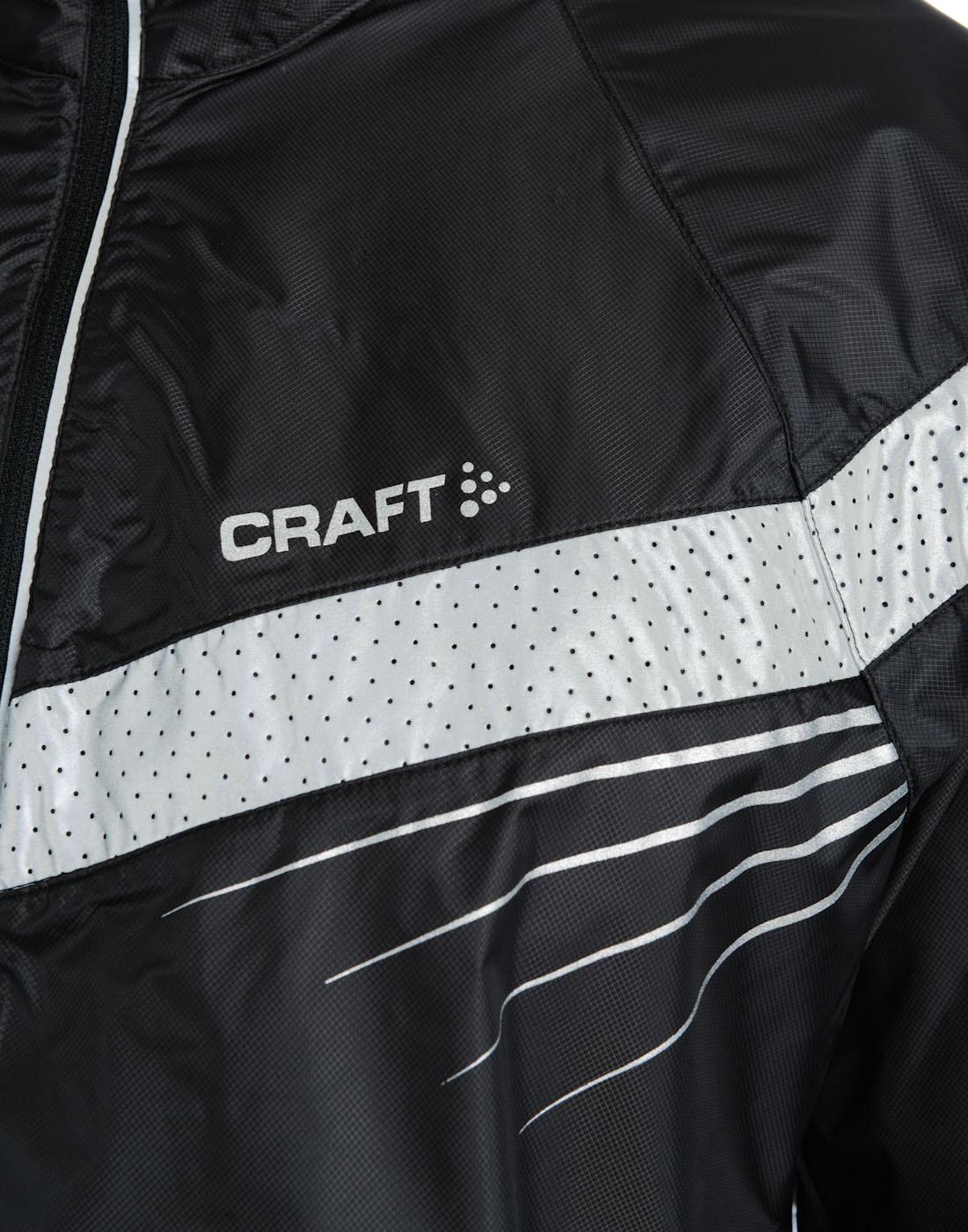 Мужская беговая куртка Craft Performance Brilliant (1902206-9926) черная