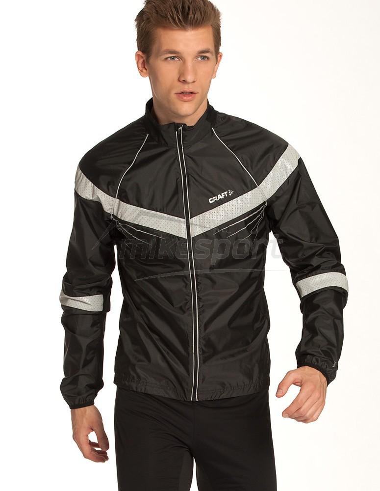 Мужская беговая куртка крафт Performance Brilliant (1902206-9926) черная