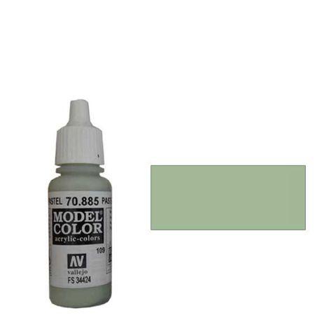 109. Краска Model Color Серый Пастельный 885 (Pastel Green) укрывистый, 17мл