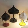 лампа Pleat Box ( коричневая )