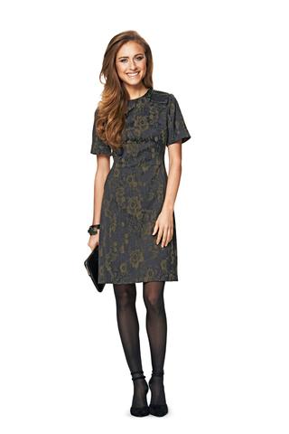 Выкройка Burda (Бурда) 6832 — Платье