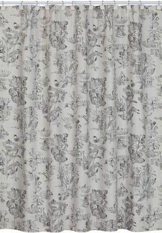 Элитная шторка для ванной Sketchbook от Creative Bath