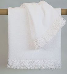 Набор полотенец 2 шт Timas Conserto белый