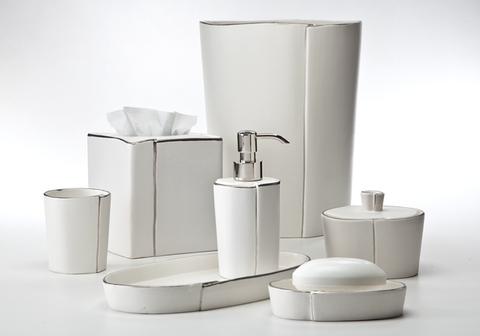 Набор элитных аксессуаров для ванной Lino Platinum от Labrazel