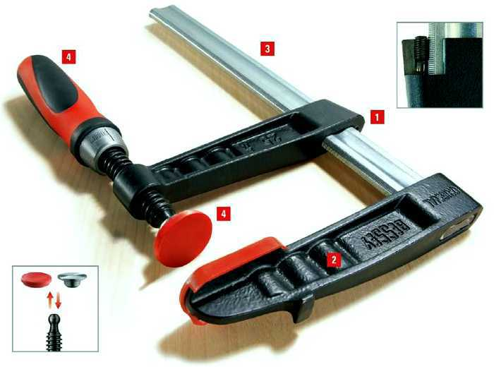 Струбцина Bessey BE-TP150S12BE