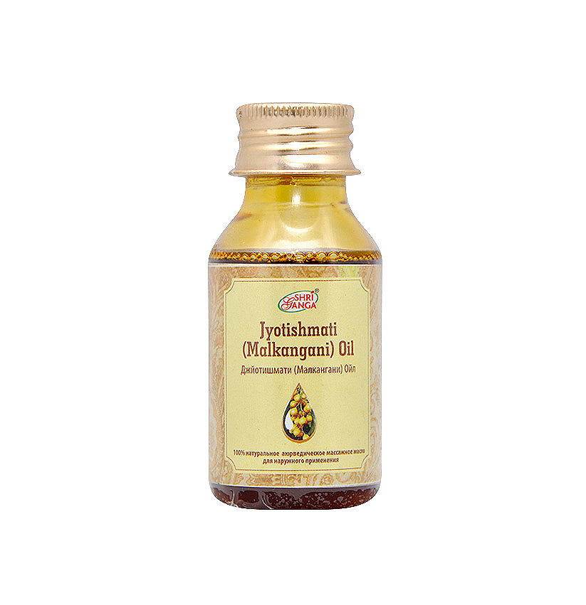 Shri Ganga Jyotishmati (Malkanguni) Oil/ Джйотишмати (Малкангани) масло. 50 мл.