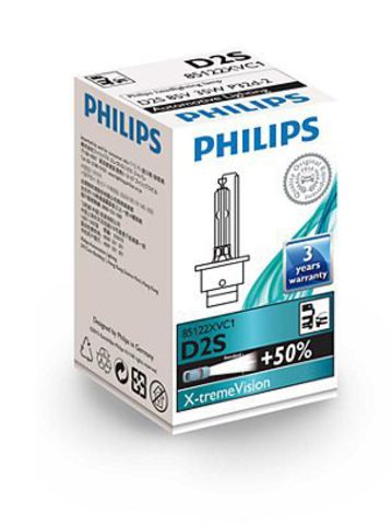 Лампа ксенон D2S (4800К) Philips X-tremeVision (картон)