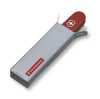 "Швейцарский нож Victorinox EcoLine ""My First Victorinox"", 84 мм, 8 функ, красный матовый  (2.2363)"