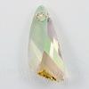 6690 Подвеска Сваровски Wing Crystal Luminous Green (23 мм)