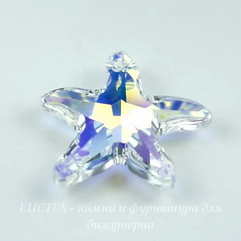6721 Подвеска Сваровски Морская Звезда Crystal AB (20 мм) ()