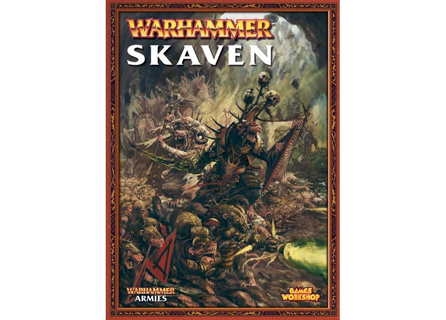 Skaven Army Book (старая версия)