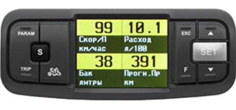 Универсальный бoртовой компьютер Multitronics TC 750