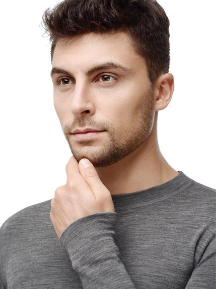 Термофутболка Norveg Soft Shirt мужская с длинным рукавом