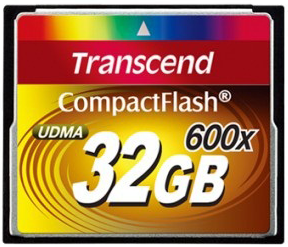 Compact Flash 32Gb Transcend 600x