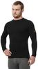 Терморубашка с шерстью мериноса Norveg Classic Black мужская