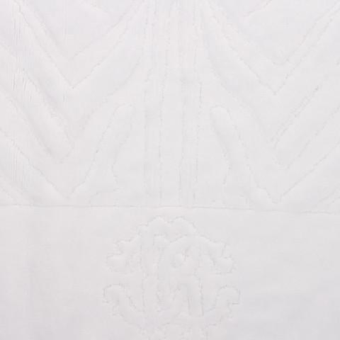 Элитный коврик для ванной Zebrona 012 bianco от Roberto Cavalli